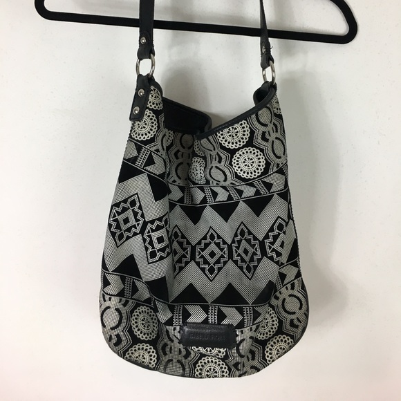 9e88973581a5 Isabella Fiore Leather and Suede Hobo Purse